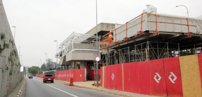 Obra na Estação Jardim Belval interdita via no domingo
