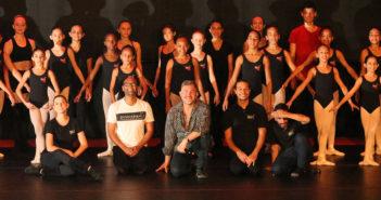 Professor de balé Alaércio Leite faz workshop para o Núcleo de Dança