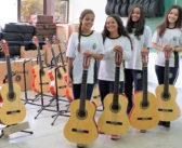 Projeto Música e Artes ao Ar Livre retoma atividades com novos alunos
